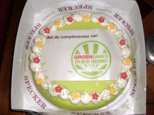 groenlinks taart - klus foto's eigen huis 006
