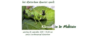 klassiek in de pluktuin 26 sept 2015