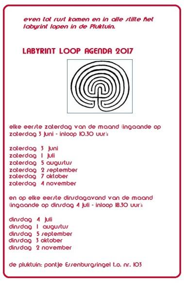 labyrint loop agenda 2017