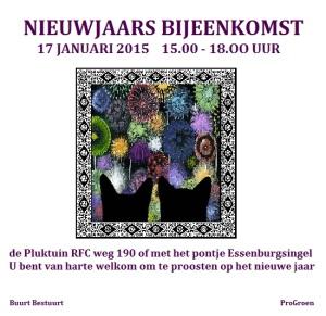 nieuwjaars bijeenkomst 17 januari 2015