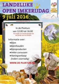 poster-imkerijdagen-9 juli 2016 A3
