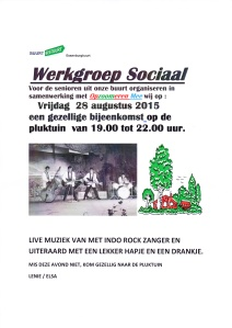 werkgroep sociaal avond 28 aug 2015