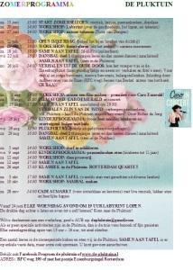 zomerprogramma 2015 HERZIEN
