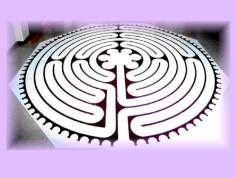 labyrint tekening