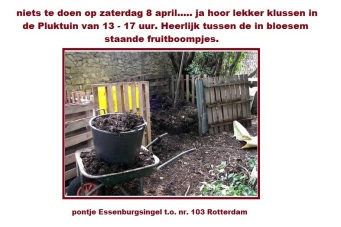 klusdag 8 april 2017