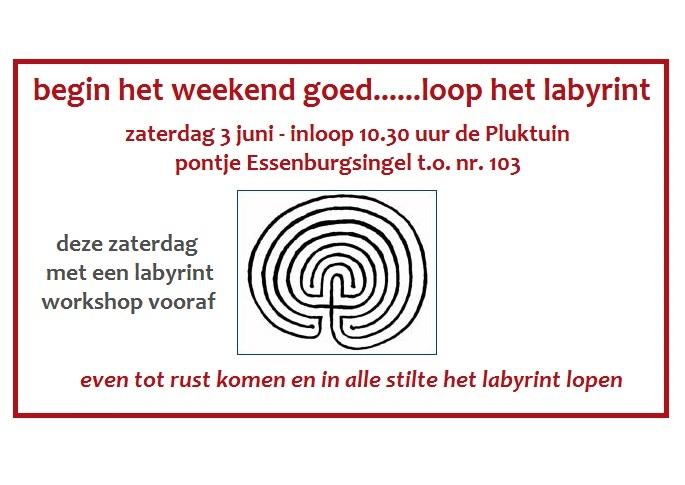 labyrint lopen aankondiging 2017