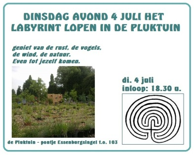 labyrint lopen di 4 juli 2017