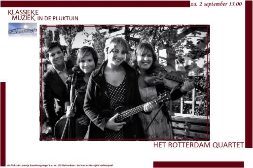 klassieke muziek in de pluktuin 2 sept 2017 poster