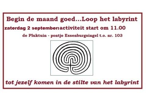 labrint lopen 2 sept 2017