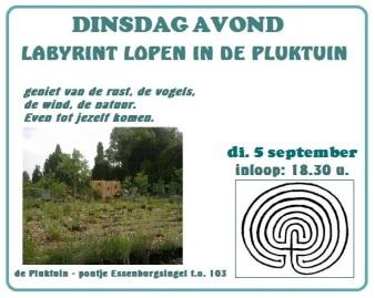 labyrint lopen 5 sept 2017