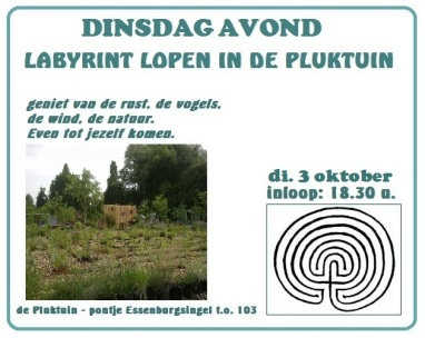 labyrint lopen 3 oktober 2017