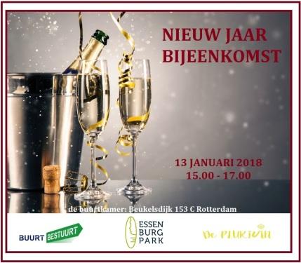 nieuwjaarsbijeenkomst 13 jan 2018 progroen buurt bestuurt