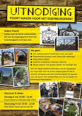 poort essenburgpark flyer nr 1