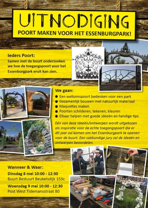 poort essenburgpark flyer nr 1
