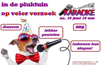 karaoke 16 juni 2018