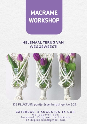 macrame workshop 4 aug 2018