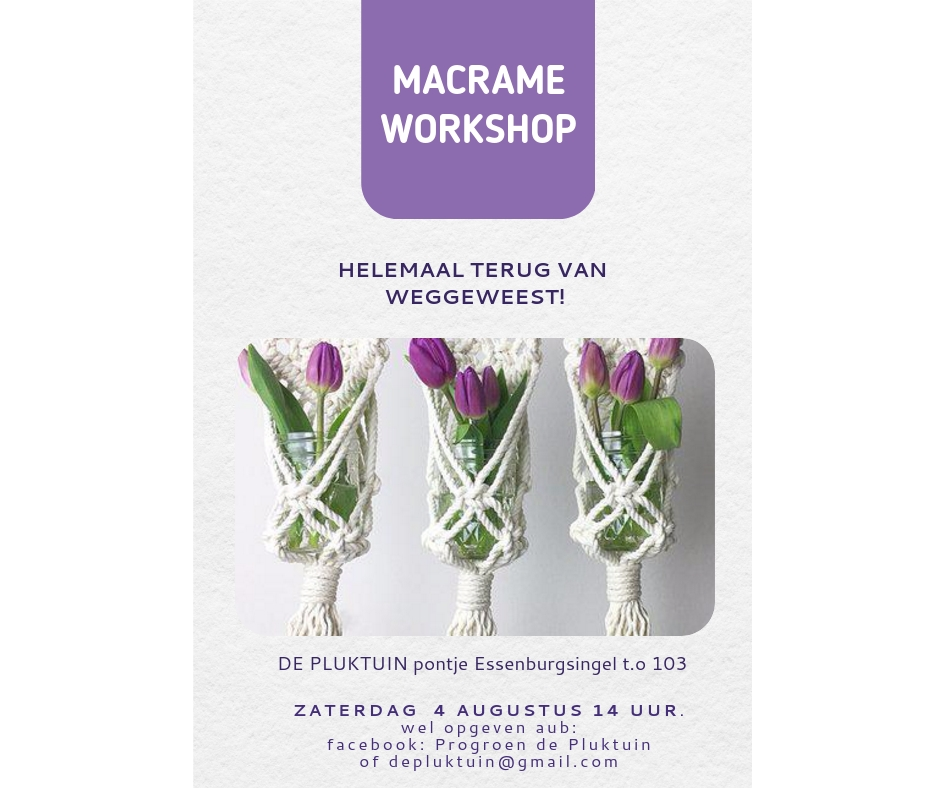 macrame workshop aug 2018 facebook