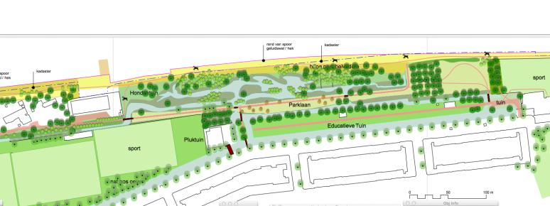 essenburgpark ontwerp bovenaf