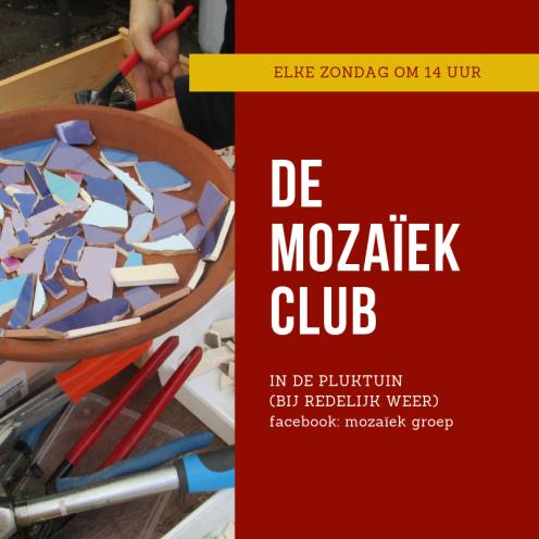 mozaiekgroep 2019 start aankondiging