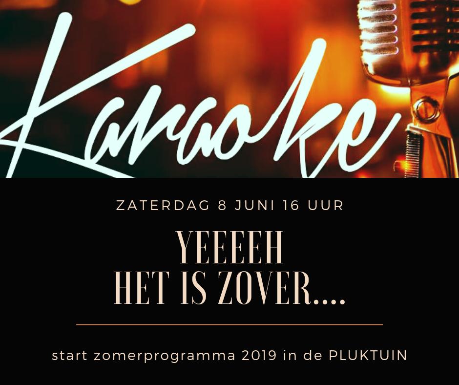 karaoke 8 juni 2019