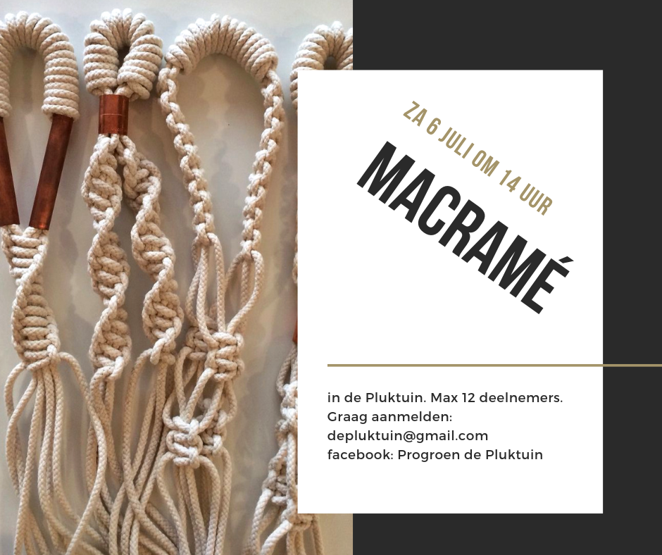 macrame 6 juli 2019