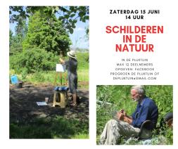 schilderen in de natuur 15 juni 2019